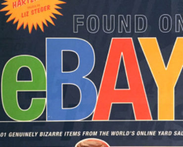 Found on eBay by Marc Hartzman, featuring the most bizarre items from the world's online yard sale.