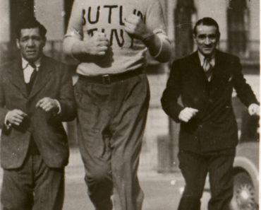 Ted Evans, The Tallest Man Alive. Photo: Kobel Collection, courtesy of Bob Blackmar