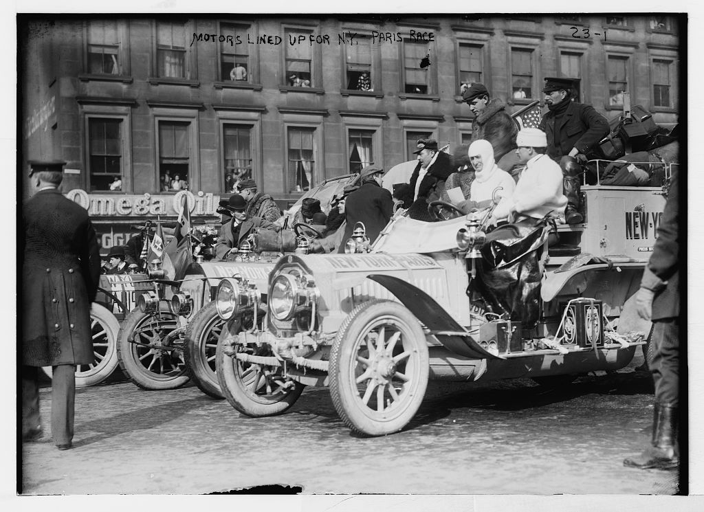 The Great Race of 1908: Six Cars Journey from New York To Paris