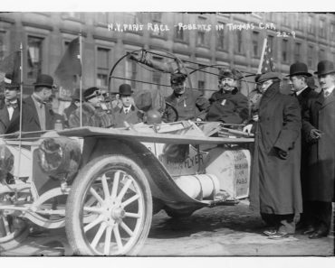 The Thomas Flyer, America's entrant in the Great Race of 1908.