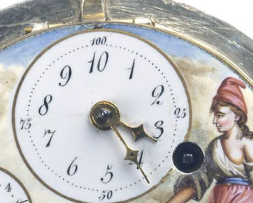 A 10-hour clock from the French Revolution