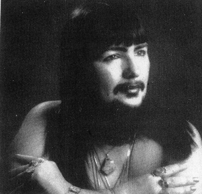 Bearded Lady, Vivian Wheeler, circa 1970. Photo courtesy of Vivian Wheeler.