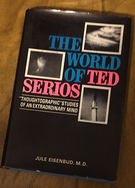 Dr. Jule Eisenbud's 1967 book about Thoughtographer, Ted Serios.