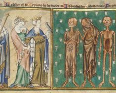 Psalter (the 'de Lisle Psalter'), circa 1310 – 1320. Artist unknown. Illustrated manuscript.