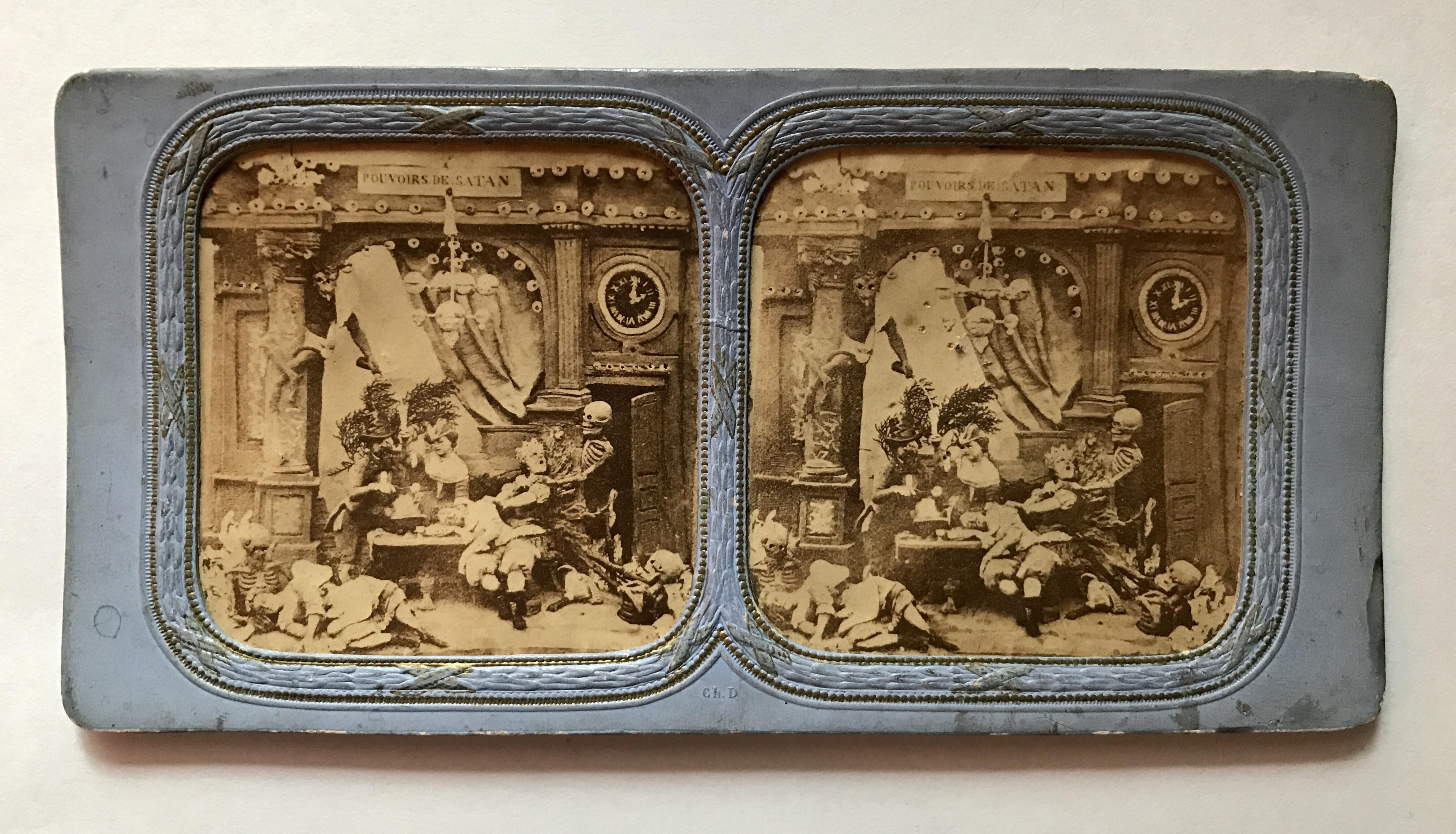 Les Diableries: Pouvoirs De Satan (Satan's Powers). Hartzman Collection.