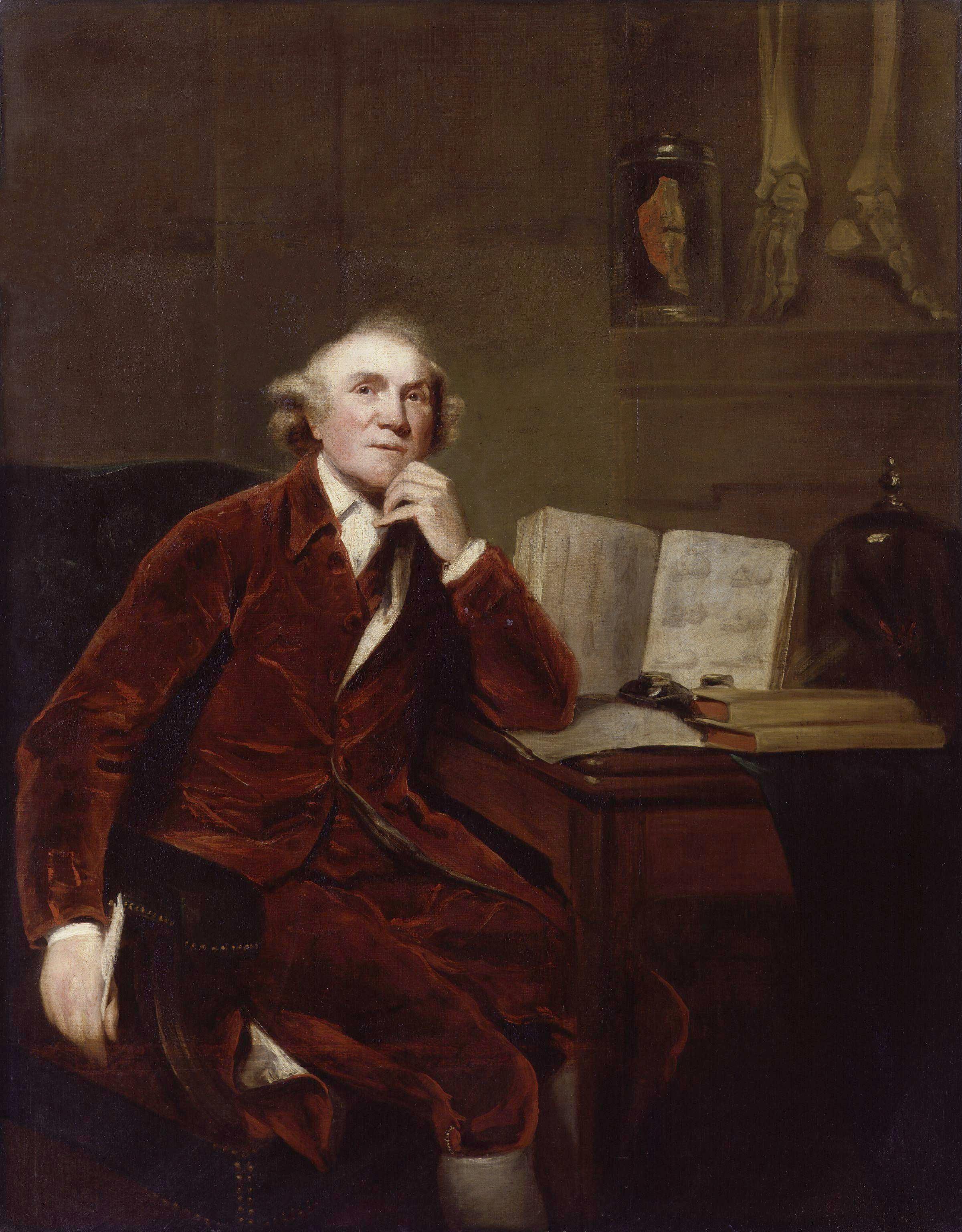 John Hunter by John Jackson. John Jackson [Public domain], via Wikimedia Commons.