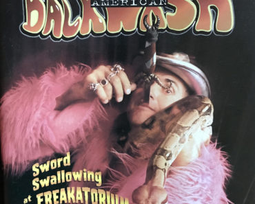 Backwash zine #15, featuring Johnny Fox. Cover photo taken by Liz Steger-Hartzman.