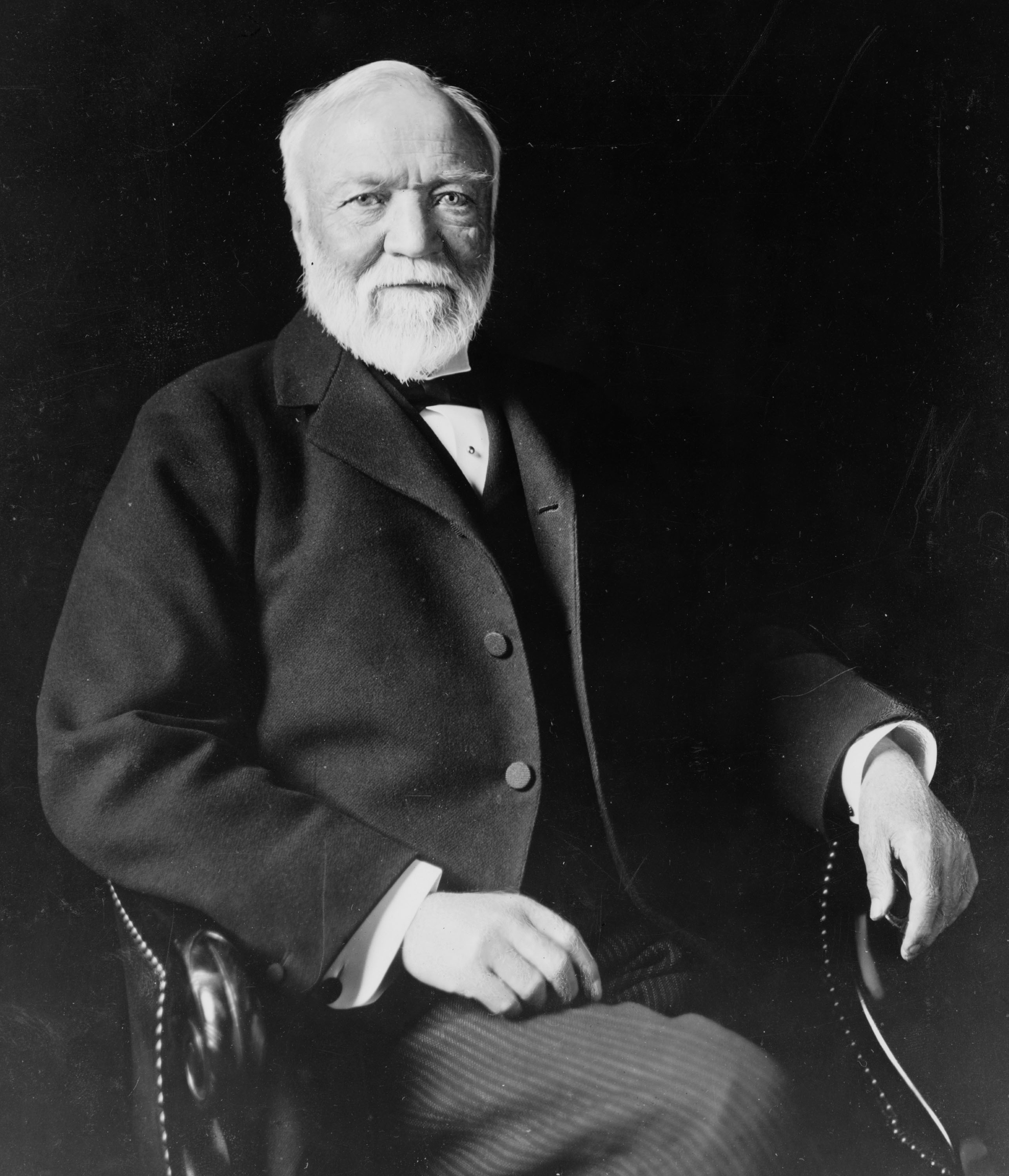 Andrew Carnegie, potential benefactor for Pickering's Mars mirrors. Theodore C. Marceau [Public domain], via Wikimedia Commons.