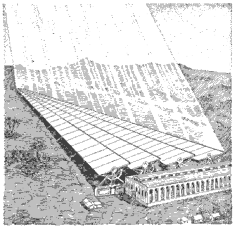 Mirror signal for Mars, from Popular Mechanics 1909.