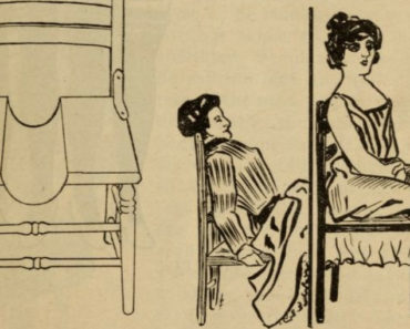 Three-legged woman diagram from The New Magic, 1902.
