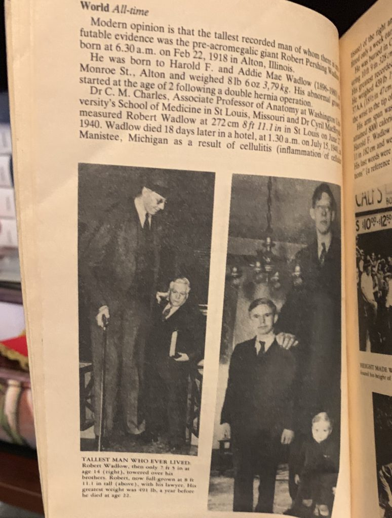 Robert Wadlow, the Tallest Man Ever, Should've Been Nine Feet Tall